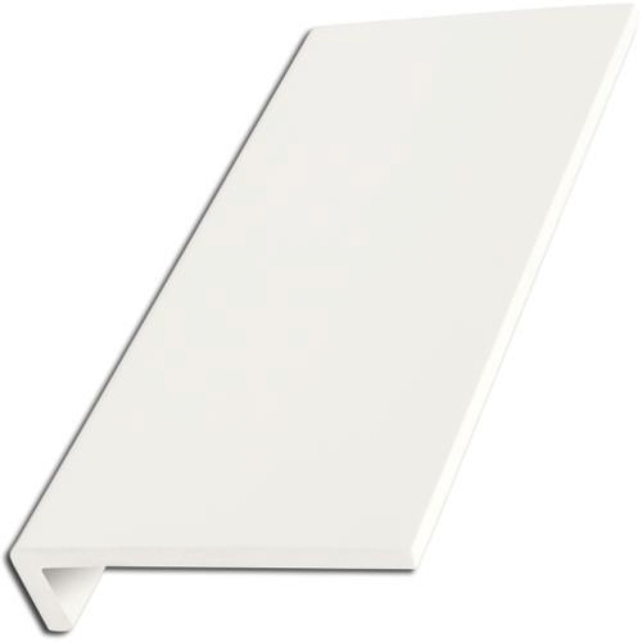 300mm White UPVC Window Board//Cill Cover 2.5m Long 9mm Thick Plastic Window Sill Capping