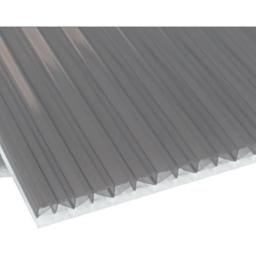 25mm Heatguard on Opal Polycarbonate Roofing Sheet