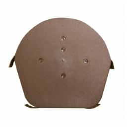 Easyverge Brown Round Ridge End Cap