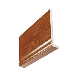 9mm Golden Oak Ogee Fascia Capping Board 5m