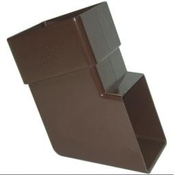 Brown Square Down Pipe Shoe