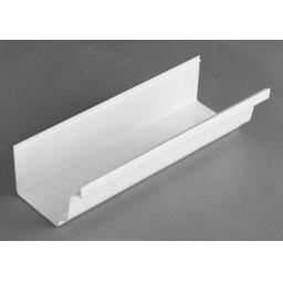 White Ogee Gutter 4mt Length