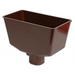 Brown Down Pipe Hopper Universal Square or Round