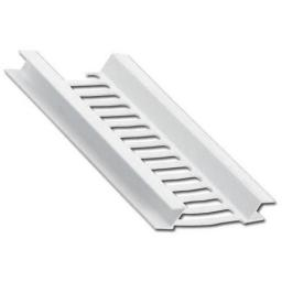 Soffit Vent Strip White 5mt