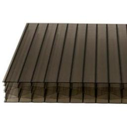 25mm Bronze Multi-Wall Polycarbonate Roofing Sheet