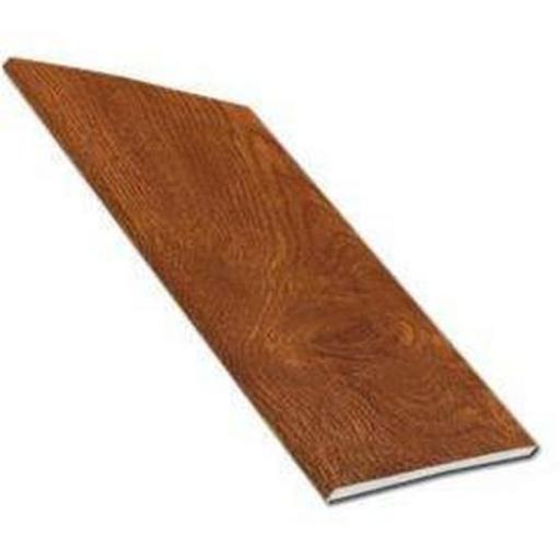 Golden Oak UPVC Plain Soffit Board