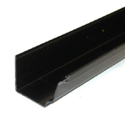 Black Ogee Gutter 4mt Length