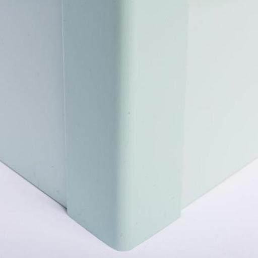 Hygienic Wall Cladding External Angle Pastel Green