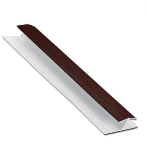 Shiplap H Section Jointing Trim Rosewood