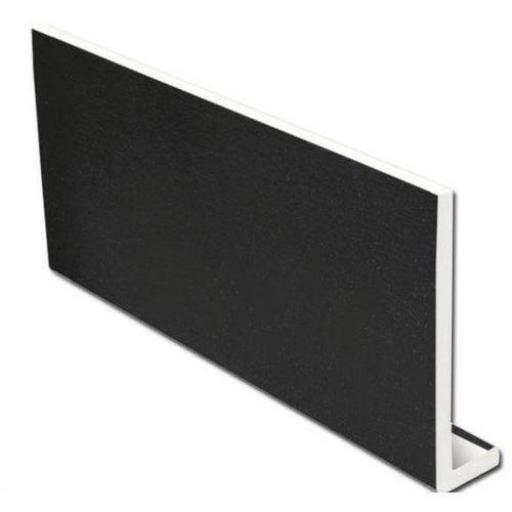 250mm Black Ash Fascia Capping Board