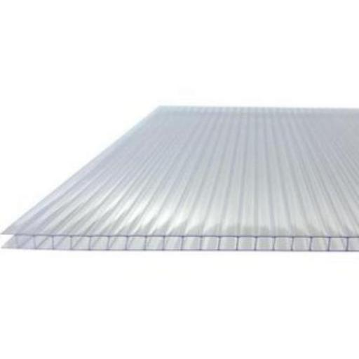 4mm Twin Wall Greenhouse Polycarbonate Sheet