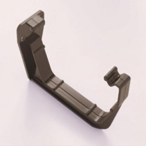 Brown Square Gutter Fascia Bracket