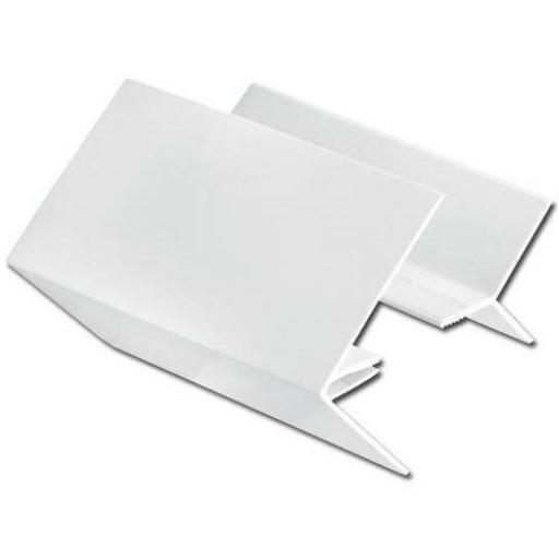 Shiplap 2 Part External Corner Joint White