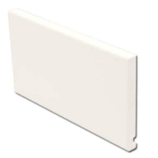 White Replacement Flat Fascia Boards 16mm x 5mtr