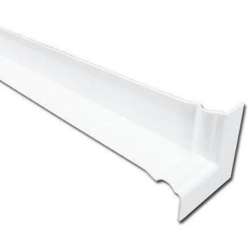 500mm White Ogee Internal Fascia Corner