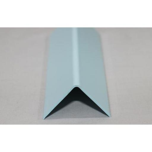 Hygienic Wall Cladding External Angle Pastel Blue