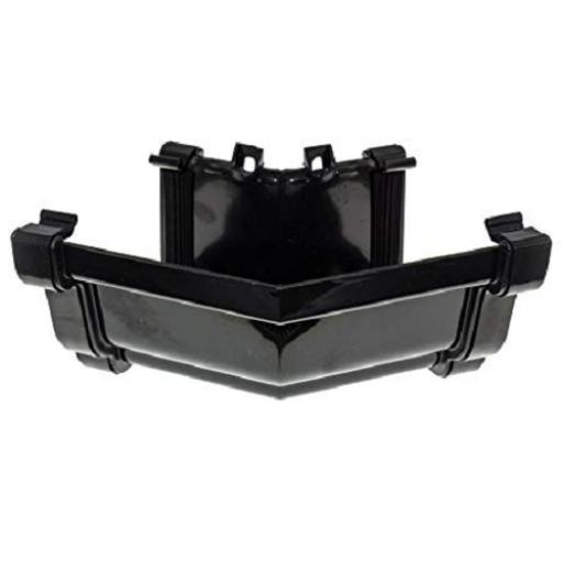 Black Ogee Gutter External 135 Degree Angle