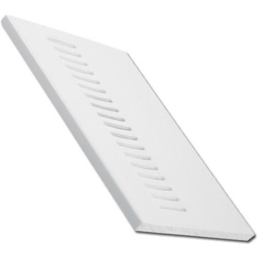 White UPVC Vented Soffit Board