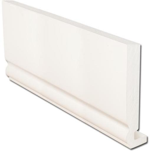 White Ogee Replacement Fascia Boards 16mm x 5mtr