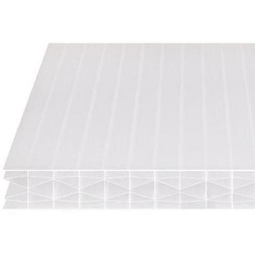 25mm Opal Multi-Wall Polycarbonate Roofing Sheet