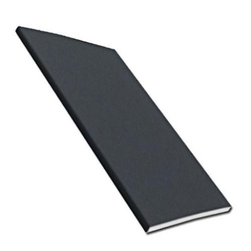 Anthracite Dark Grey Plain UPVC Soffit Board