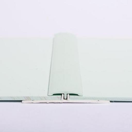 Hygienic Wall Cladding H Section Joint Strip Pastel Green