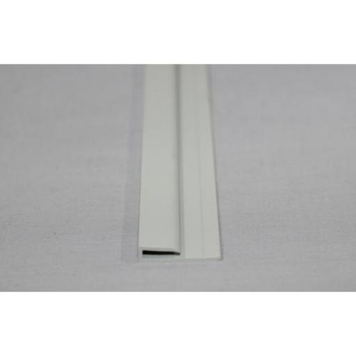 Hygienic Wall Cladding Capping Strip Pastel Grey