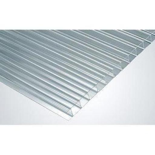 6mm Twin Wall Polycarbonate Roofing Sheet