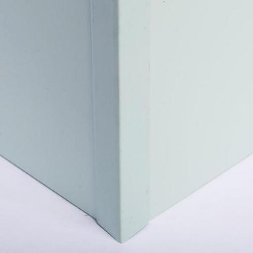 Hygienic Wall Cladding External Corner Joint Pastel Green