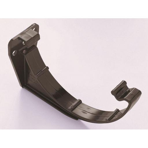 Brown Round Gutter Fascia Bracket