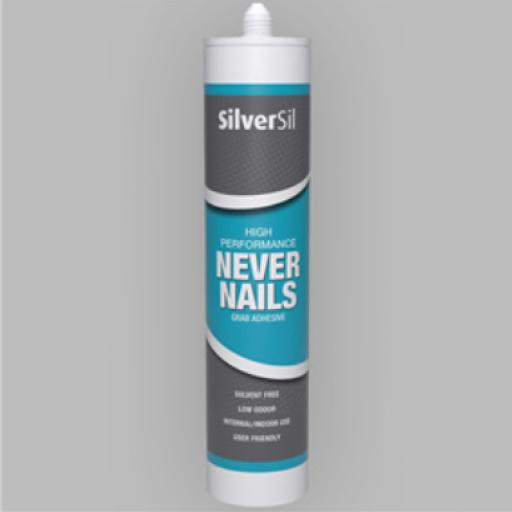 300ml Never Nails - White