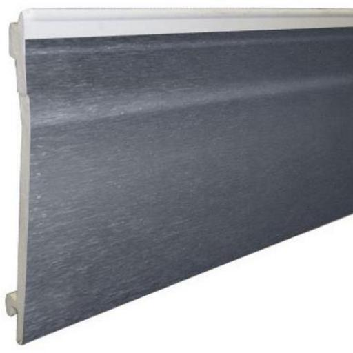 125mm Anthracite Shiplap External Cladding PVC Dark Grey