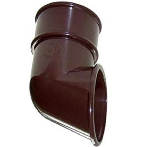 Brown Round Down Pipe Shoe