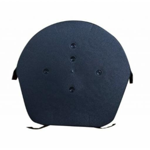 Easyverge Black Round Ridge End Cap