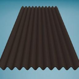 Brown Bitumen Corrugated Roofing Sheet 950mm x 2000mm