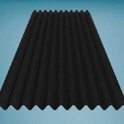 Black Bitumen Corrugated Roofing Sheet 950mm x 2000mm