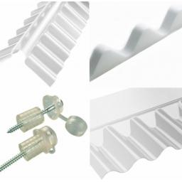 "Corrugated 3"" Profile Fixings and Flashings"