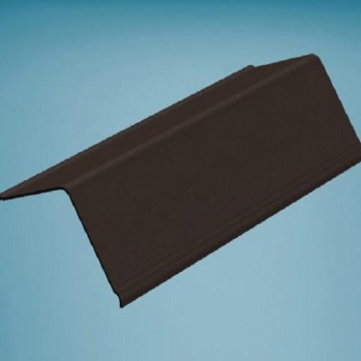 Brown Bitumen Corrugated Gable End Angle