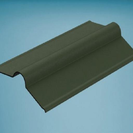 Green Bitumen Corrugated Roofing Ridge 850mm