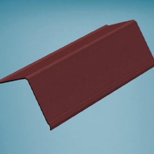 Red Bitumen Corrugated Gable End Angle