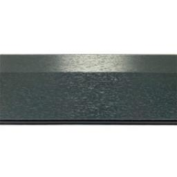 150mm Anthracite UPVC Skirting Board - 5m Chamfered