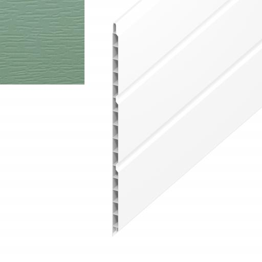 Chartwell Green 300mm Hollow Soffit Board