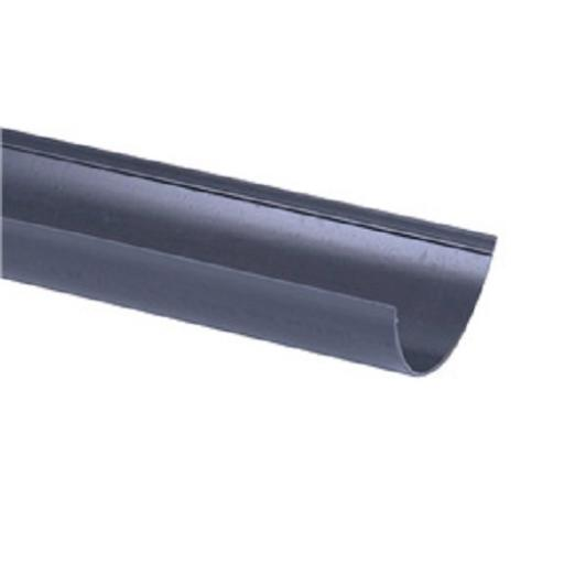 Anthracite Round Gutter 4mt Length 112mm