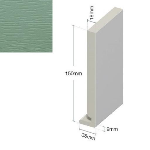 Chartwell Green Replacement Fascia Board 9mm / 5m