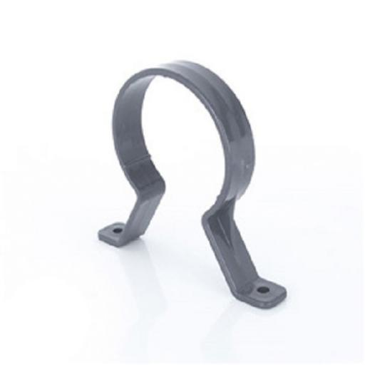 Anthracite Round Down Pipe Clips