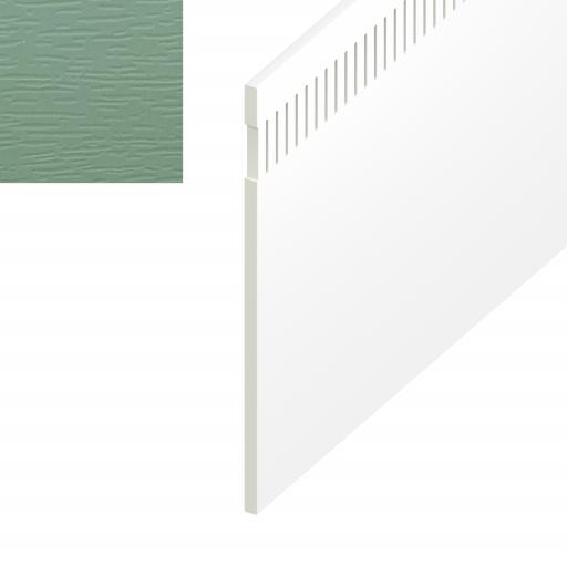 Chartwell Green Vented UPVC Soffit Board