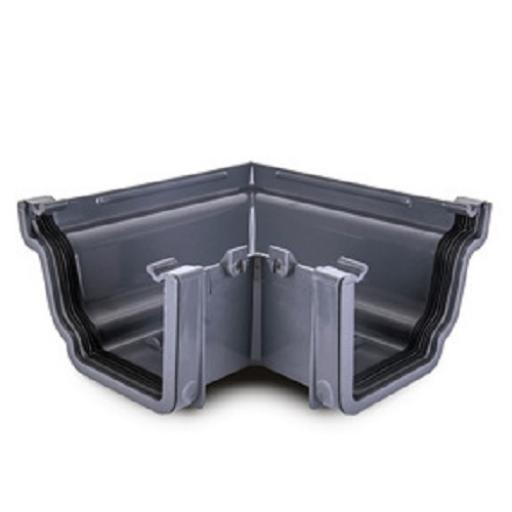 Anthracite Ogee Gutter External 90 Degree Angle