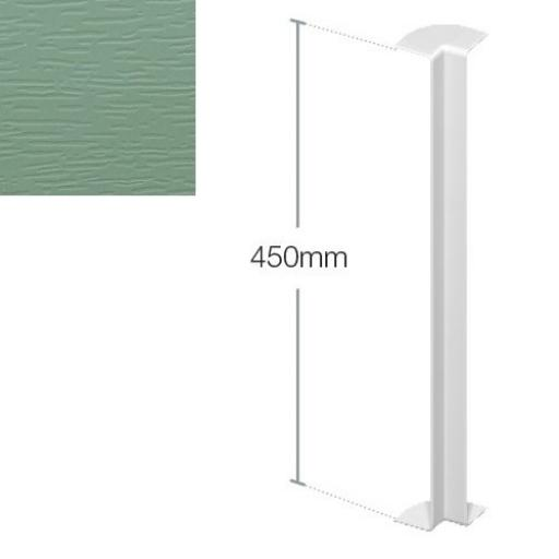 450mm Chartwell Green Internal Fascia Corner - Double Ended