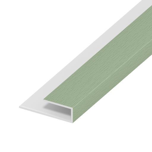 Chartwell Green Soffit Board Starter Trim / J Trim 5mt