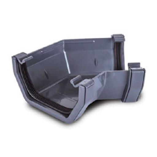 Anthracite Square Gutter 135 Degree Angle